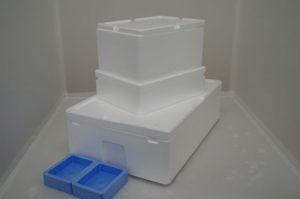 発泡スチロール容器